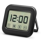 KCASA KC-CKT1000 Temporizador digital de cocina Grande Sensor táctil de Pantalla de LCD Soporte magnético Reloj de voz alta