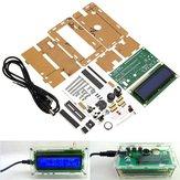 LCD 1602 DC 5V Kit d'horloge électronique bricolage Fonction d'alarme de température avec coque acrylique