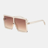 Women Vintage Oversize Square Frame Multi-Color Fashion UV Protection Sunglasses