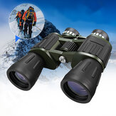 60x50 Military Army Zoom Powerful Telescope HD Polowanie Camping Night Vision Lornetki