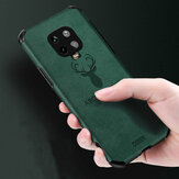 Bakeey for Xiaomi Redmi Note 9S / Redmi Note 9 Pro / Redmi Note 9 Pro Max Case Deer Pattern with Airbag PU Leather Shockproof Protective Case