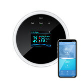 DIGOO DG-ZXGS21 Akıllı WIFI Gaz Kaçak Dedektörü APP Uzakdan Kumanda Uyarı Gaz Alarmı Sensör Digoolife Smartlife Tuya APP ile Çalışın
