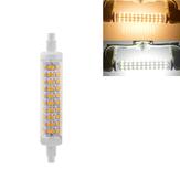 R7S 118MM 10W SMD2835 Branco Quente Branco Puro Não Stroboscopic LED Milho Lâmpada AC85-265V