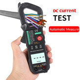 WinAPEX 8204 Intelligent Automatic True RMS Clamp Meter DC Current Measurement with Temperature Measurement AC/DC Multimeter