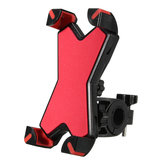 3.5-6.5 Inch Phone GPS Handlebar Holder Stretch Mount X Style For Motorcycle Bike Scooter
