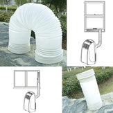 150 cm Esnek Taşınabilir Egzoz Hortum PVC Tüp Uyar Klima 5