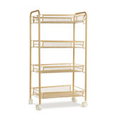 3/4/5 Tier Rolling Trolley Trolley Storage Holder Rack Organizer Home Office Kuchnia Łazienka