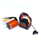 Surpass Hobby F540 Waterproof 4370KV Brushless Motor +45A ESC for 1/10 Rc Car Parts