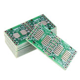 20pcs SOP14 SSOP14 TSSOP14 To DIP14 Pinboard SMD To DIP Adapter 0.65mm/1.27mm To 2.54mm DIP Pin Pitch PCB Board