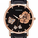 YAZOLE 343 Crystal Elegant Design Ladies Wrist Watch