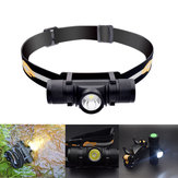 XANES D10 1000LM XPL LED 6 Modes Stepless Dimming USB Charging Interface IPX6 Waterproof Cycling Headlamp 18650