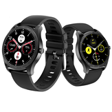 [E-compass]KINGWEAR KW11 AMOLED 360*360px Full Touch Screen Dynamic Heart Rate Monitor bluetooth V5.0 IP68 Waterproof Ultra-thin Smart Watch