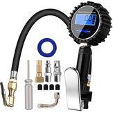 車のトラックのオートバイのための200PSIデジタルタイヤインフレータ圧力計空気圧縮機ポンプクイックコネクトカプラー