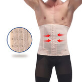 Mens Slimming Belt Belly Elastic Body Shaper Casual Corset Abdomen Tummy Slim Girdle