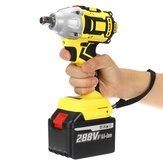 288VF Brushless Cordless Electric Wrench 520N.m 0-3000RPM Power Tool W/ 1pc Battery
