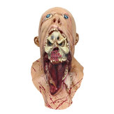 Halloween Party Home Decoration Toys Horror Rotten Bloody Mask Props Toys Supply For Kids Gift