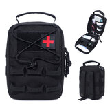 ZANLURE Outdoor Tactical Medical Pouch Groot formaat Survival Bag Pakket Tactische EHBO-tas Medische kit Emergency Bag