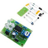 3pcs LM358呼吸ライト部品電子DIYブルーLED Flashランプ電子製品キット