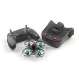 Eachine Novice-I 75mm 1-2S Whoop FPV Racing Drone RTF & Fly more w / WT8 2.4G Transmitter 5.8Ghz 40CH VR009/VR005 Gafas