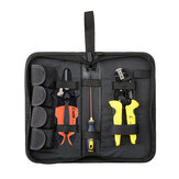 PARON Jx-d4143 Multi-functional Four-in-one Line Pressing Suit Easy Carrying Terminals Pliers Kit