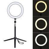 LED Selfie Ring Licht Kits mit Stativ Stativ Clip für Telefon Selfie Live Stream