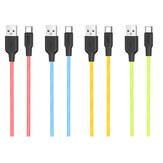 HOCO 3A Type C Micro USB Fast Charging Data Cable For Huawei P30 Pro P40 Mate 30 Xiaomi Mi10 Redmi K30 S20 5G