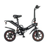[EU Direct] Niubility B14 15Ah 48V 400W 14 Inches Folding Moped Bicycle 25km/h Top Speed 100KM Mileage Range Electric Bike Ebike