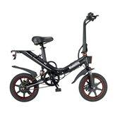 [EU Direct] Niubility B14 15Ah 48V 400W 14 cali Składany rower motorowerowy 25 km / h Maksymalna prędkość 100 km Zakres przebiegu Rower elektryczny Ebike
