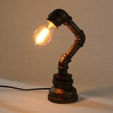 E27 Lampe de bureau vintage industrielle rétro en fer avec une lampe de bureau AC110-240V