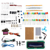 KW-AR-BaseKit Kit with 17 Classes UNO R3 DC Motor Breadboard LED Components Set Geekcreit for Arduino - products that work with official Arduino boards