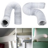 3M 15cm Dia Exhaust Hose PVC Flexible Ducting Air Conditioner Exhaust Hose Replacement Duct Outlet
