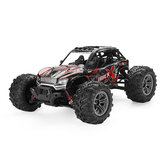 Xinlehong 9137 1/16 2.4G 4WD 36 km / h Rc Coche W / luz LED Desierto Off-Road Monster Truck RTR Toy