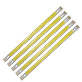5 pcs LUSTREON Pure White High Power 10 W COB LED Chip de Luz DC12-14V para DIY 200x10 MM lâmpada