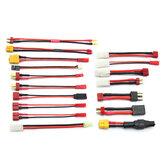 XT60/XT90/XT60/T Plug/Small Tamiya/Big Tamiya Charging Cable Silicone Wire for IMAX B6 ISDT Q6 Nano Q8 HOTA D6 Pro Charger