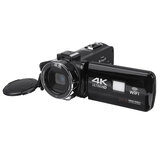 Ultra HD 4K 18X 30MP 18X Zoom 3 pollici LCD Videocamera digitale Video DV fotografica Rotazione 270 ° per vlogging Registrazione video Youtube