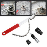 BIKIGHT Bike Repair Fixed Tool 4 in 1 MTB Axis Removal Tool Flywheel Wrench Crankset Cycling Tool Kits