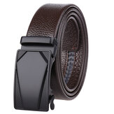 High Quality Alloy Automatic Leather Belt