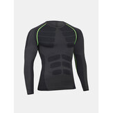 Men's Cool Dry Elastic Compression Base Layer T-shirts Tops Tights Sports Training Base Tees