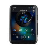 BENJIE X5 Reproductor de MP3 Bluetooth de 8GB HD Sin pérdida MP4 MP5 MP6 Reproductor de audio y video Música Altavoz incorporado Alarma de grabación de sonido externo FM