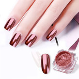 2 Rose Gold Chrome Nail Powder Mirror Effect Nail Pigment Ge