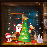 Miico XL893 Christmas Sticker Home Decoration Sticker Window and Wall Sticker Shop Decorative Stickers