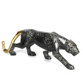 Nordic Style Lion Wolf Totem Penguin Leopard Animal Ornaments Car Crafts Cabinet Home