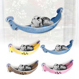 Support 20KG Pet Window-Mounted Hanging Hammock House Shelf Bed Sofa Cat Chats Perch Seat Blankets Pet Bed