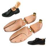 1 paire réglable hommes chaussures en bois arbres Shaper Keeper bois brancard Shaper soutien arbre Shaper Rack