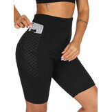 Dicetak Neoprene Sweat Shaping Shorts
