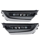 LED DRL Daytime Running Lights White Pair For Honda CR-V CRV 2017 2018