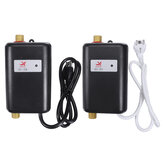 Electric Tankless Hot Water Heater Instant Heating For Bathroom Kitchen Washing With Indicator