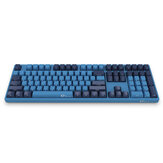 AKKO 3108SP Ocean Star Mechanical Keyboard 108 Keys NKRO Side Printed Wired PBT Keycaps Cherry MX Switch Gaming Keyboard