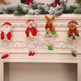 Christmas Decorations Christmas Tree Elk Doll Santa Snowman Ornaments New Year Decoration