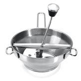 Paslanmaz Çelik Gıda Değirmeni Metal Sebze / Havuç / Domates / Patates / Pirinç Mikser Makinesi Kesici